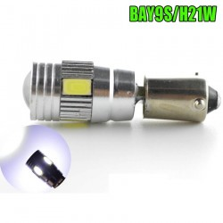 Led bec BAY9S pozitie 6 smd 5630 de culoare alb CANBUS