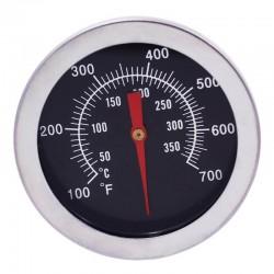 Termometru metalic pentru cuptor, analogic, de insertie, cu tija
